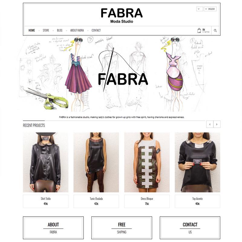web design of women clothing ecommerce website web design of fashion studio web site creatica studio,E Commerce Womens Clothing
