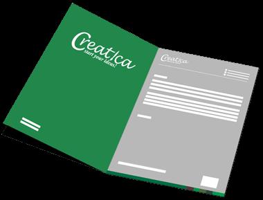 Letterhead graphic design