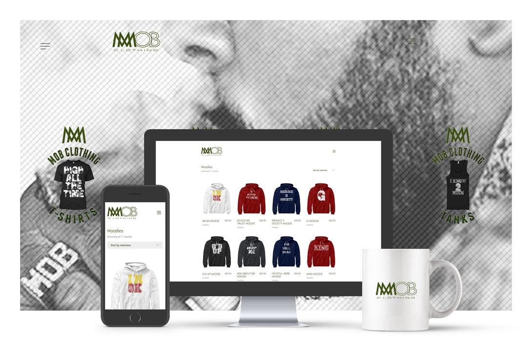 E Commerce T Shirts Website Creatica Studio