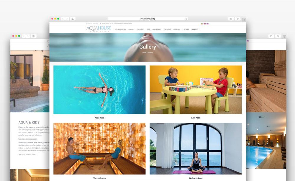 Conception De Site Web Pour Parc Aquatique Creatica Studio